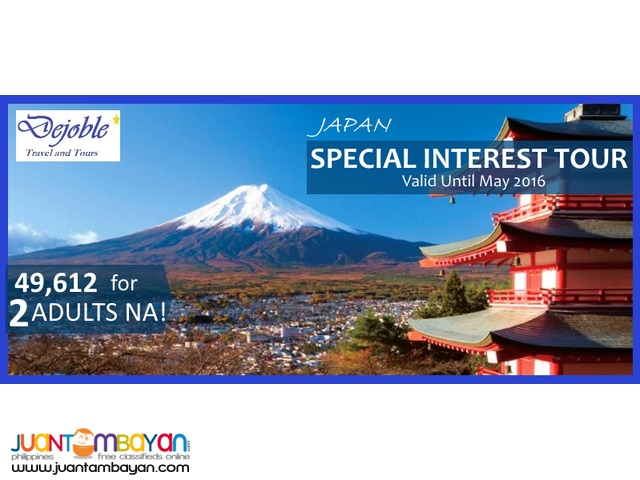 4D3N Fascinating Tokyo City Package 49,612 for 2 ADULTS NA!