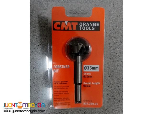 CMT 537.350.31 Forstner Bit, 35mm (1-3/8-inch) Diameter, 10mm Shank