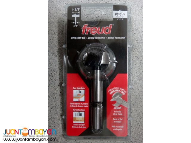 Freud PB-010 Precision Shear, 35mm (1-3/8-inch) Forstner Drill Bit