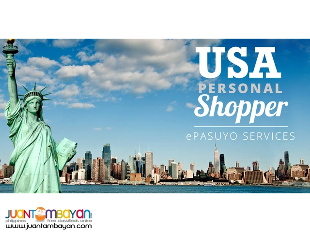 Buy Items in U.S.A. We will Ship it in Philippines