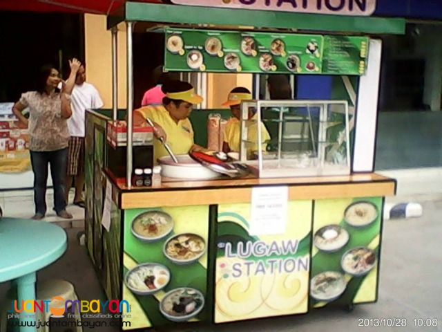 LUGAW FOOD CART BUSINESS