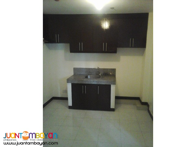 ready for occupancy condo unit connected GMA-Kamuning MRT station