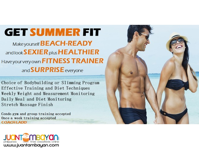 Personal Fitness Trainer Service
