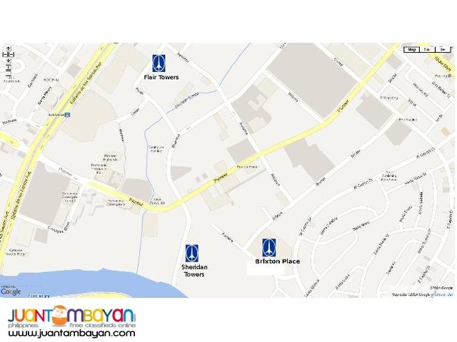 Brixton Place DMCI Pasig (45 Storey Residential Condominium)
