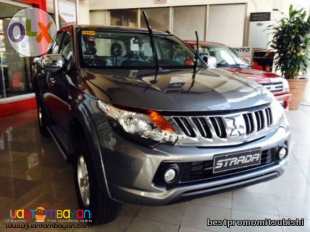88k all-in downpayment promo Strada glx 2016