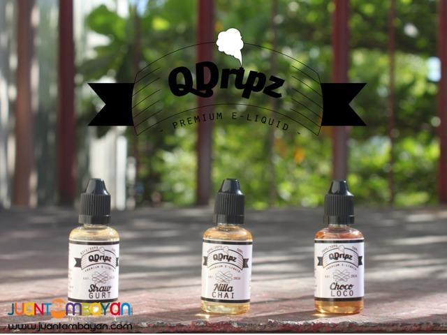 QDripz Premium E Liquid / E Juice