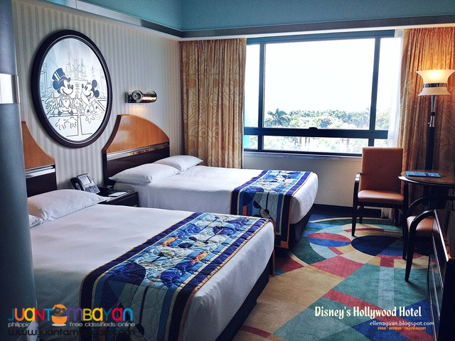 Hong Kong with Overnight Disney Hollywood Hotel