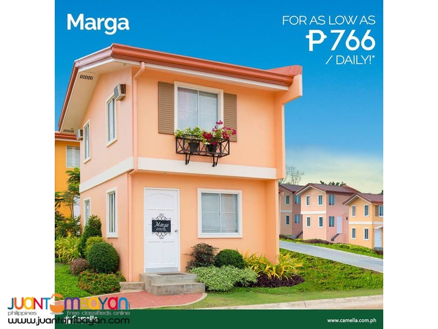 Affordable House and Lot Camella Cabanatuan City Marga