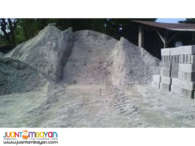 Construction Sand for Sale in Bulk