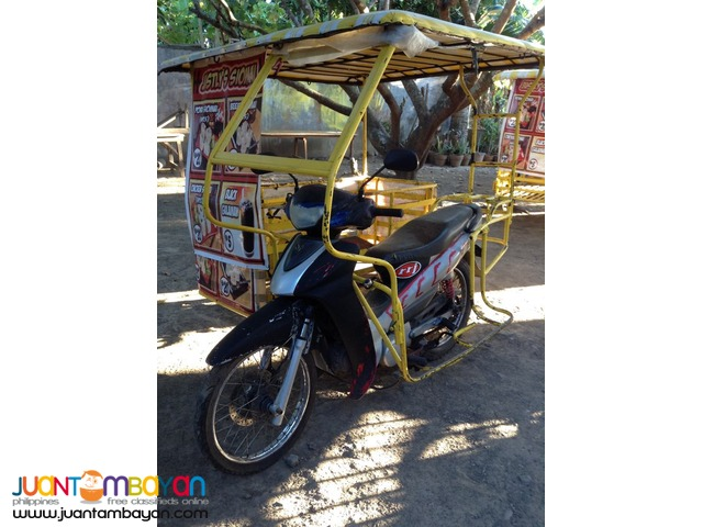 FOR SALE Business Package: 5 Motor w/sidecars including cooking tools