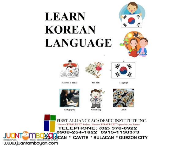LET'S LEARN KOREAN LANGUAGE