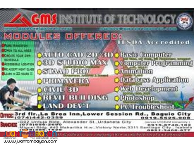 GMS Technology: Demand Computer Courses