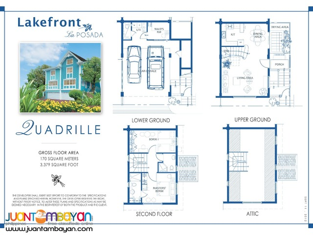 Lakefront Sucat House and Lot for Sale 2016! RFO