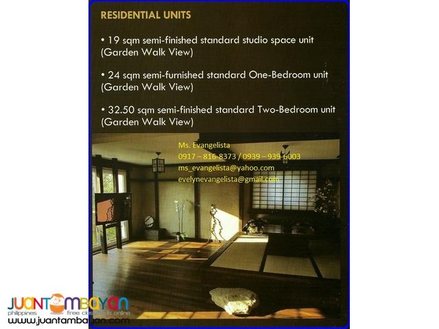 Condominium in Bali Garden Residences 2bedroom