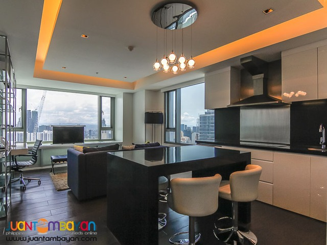 1-bedroom condo apartment for rent in Alphaland Makati Place - Makati
