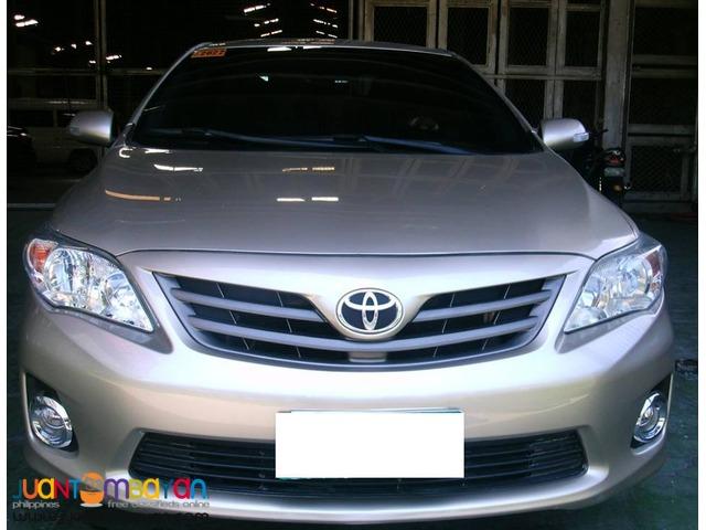 Rent a car Toyota Altis Sedan