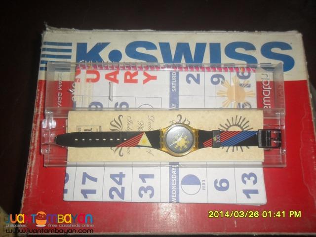 Swatch watch The Philippines Centennial GK268