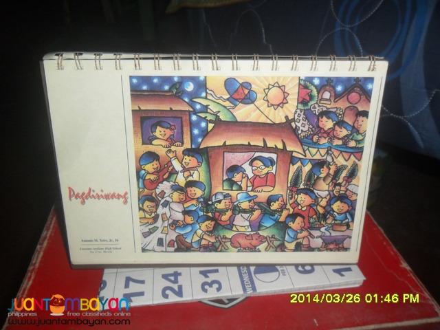 PHILIPPINE CENTENNIAL CALENDAR - 1998