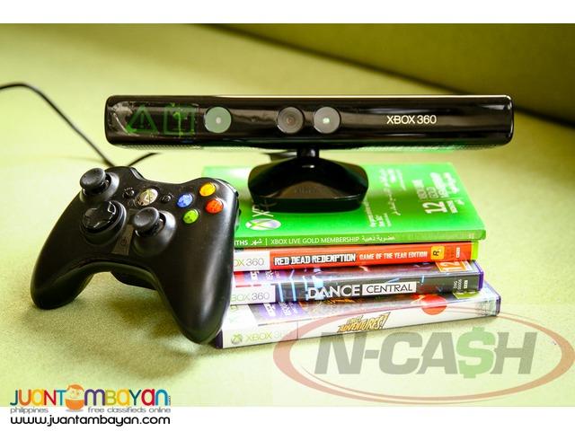 N-CASH Gadgets Pawn Shop - Microsoft XBOX 360 Kinect