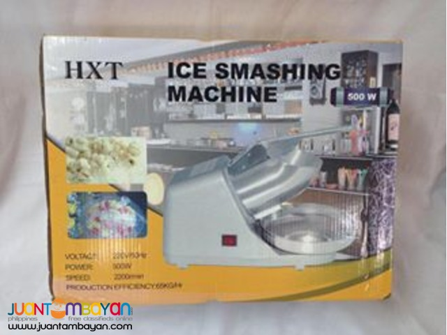 Electric Ice Shaver Crusher Machine