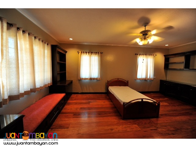 Ayala Alabang Village house and lot with pool for sale