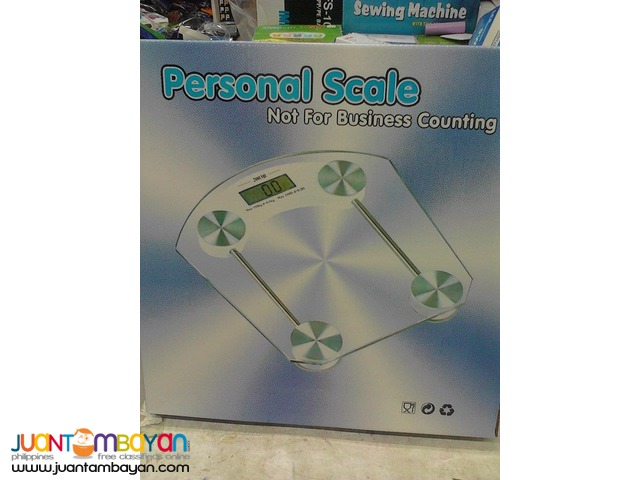 PERSONAL DIGITAL SCALE Weighing Glass Scale