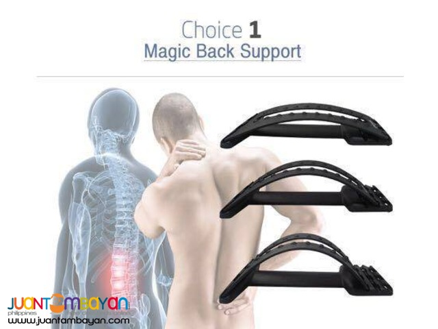 Magic Back Support, Back Rest Support