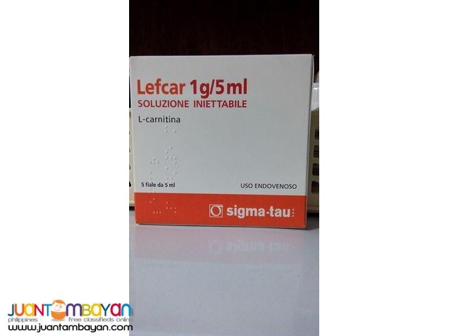 Lefcar L-Carnitine IV Complete Set 5vials