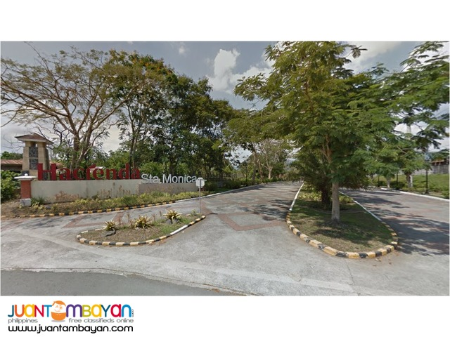 Hacienda Sta Monica Lipa City Batangas Lot 1500 per sqm