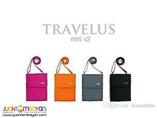 Travelus V2 Mini Passport Sling Bag Travel Pouch Carrier