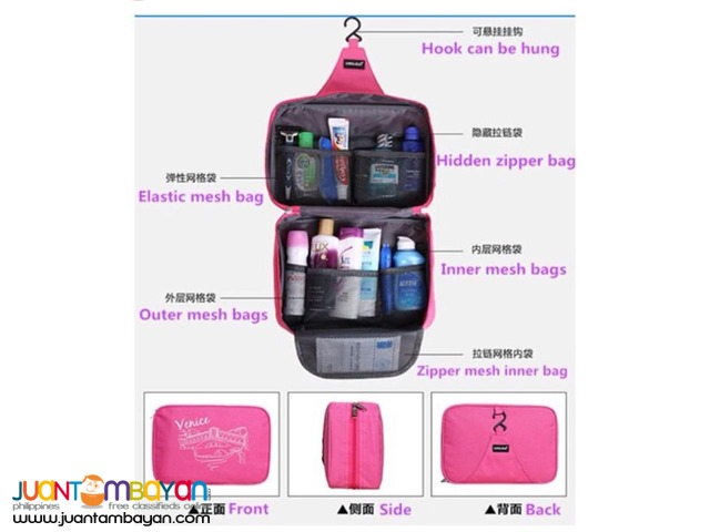 Venice Hanging Toiletry Pouch Organizer