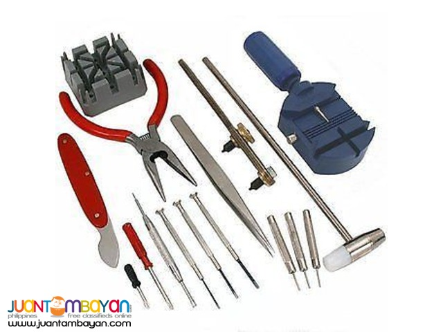 16 Piece Watch Repair Tool Kit Bnew