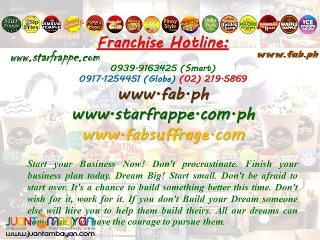 Star Frappe'  | Milk Tea & Frappe'  Business Franchise