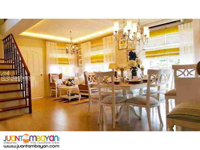 2-Storey Single Detached House for sale as low as P33,846 mo amort