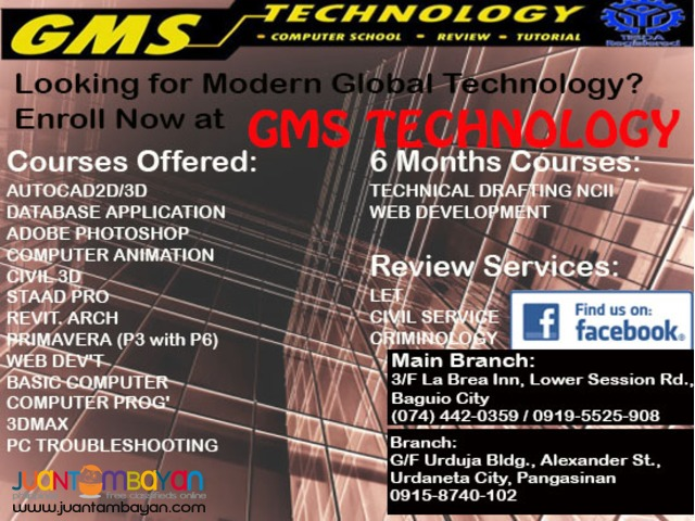 GMS Technology: In Demand Computer Courses