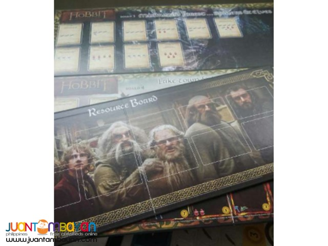 Game Board - The Hobbit: Desolation of Smaug