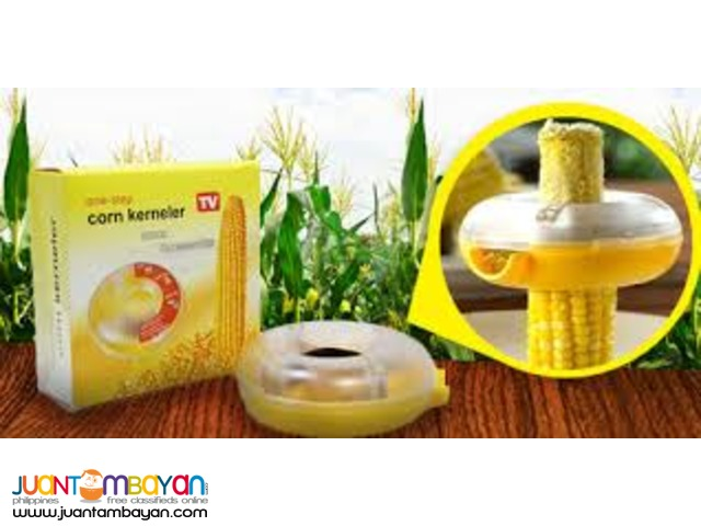 One-step Corn Kerneler Peeler