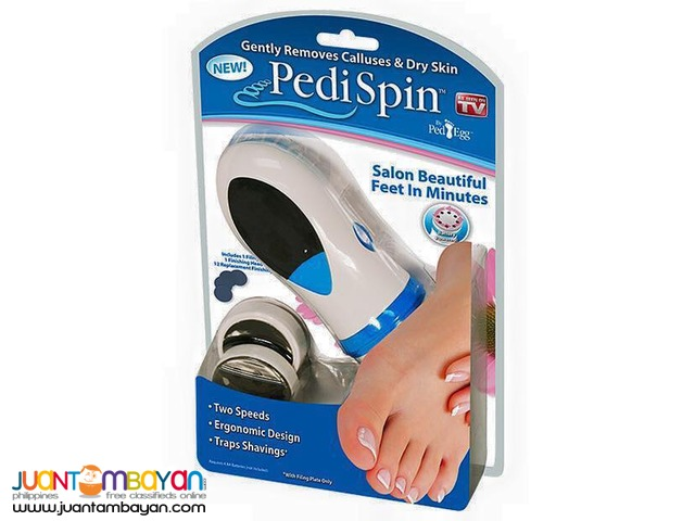 PediSpin Callus Dry Skin Remover As seen on T.V