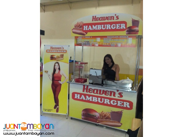 Heaven's Hamburger Food Cart Franchise 59K Only