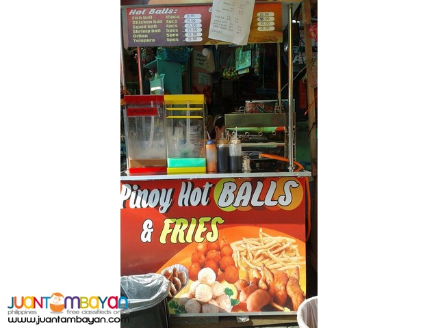 Pinoy Hotballs & Fries Food Cart Franchise 39K Only