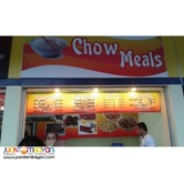 Chow Meals Food Cart Franchise 59K Only