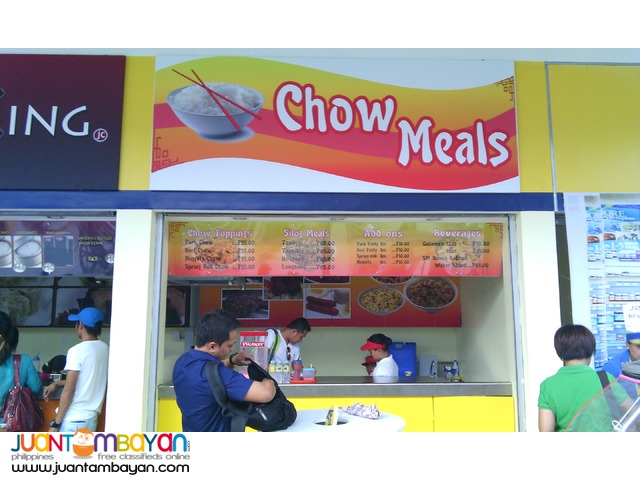 Chow Meals Food Cart Franchise 39K Only