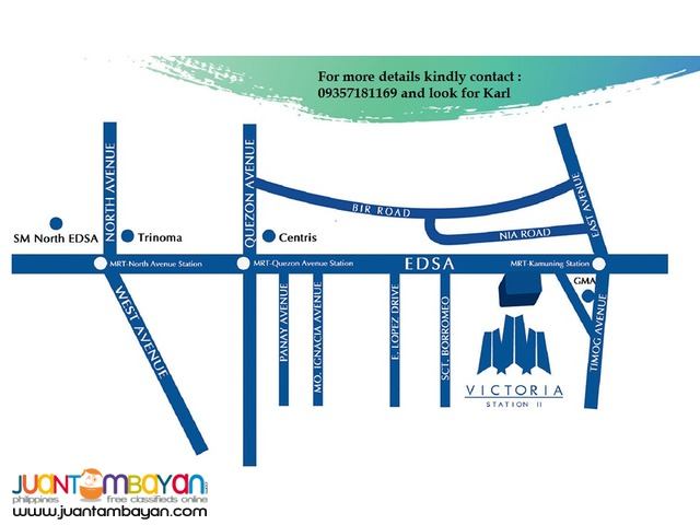 Victoria Sports Tower Station 2 located along Edsa, Kamuning, QC