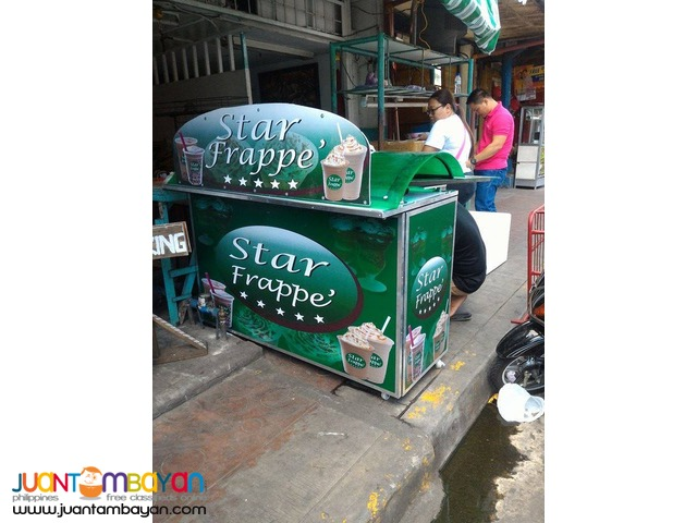 Star Frappe Food Cart Franchise P79,000 Only