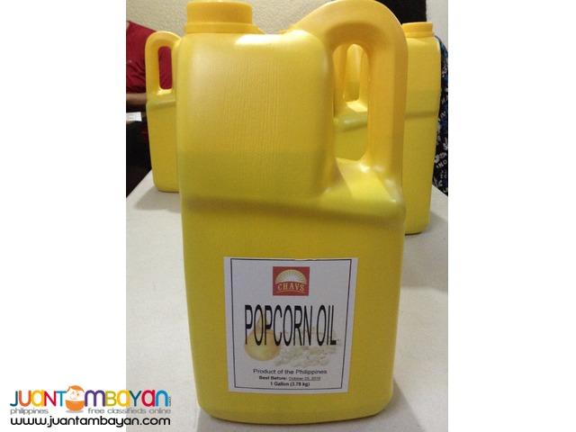Butter Popcorn Oil