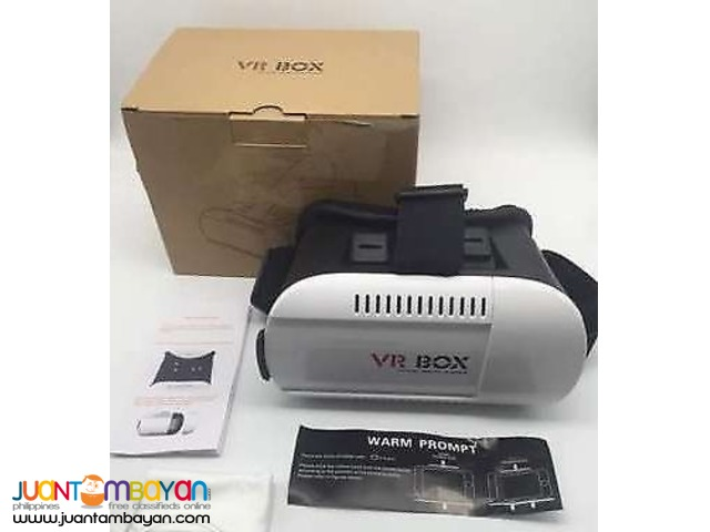 VR Box - Virtual Reality 3D Goggles Glasses for Android & Iphones