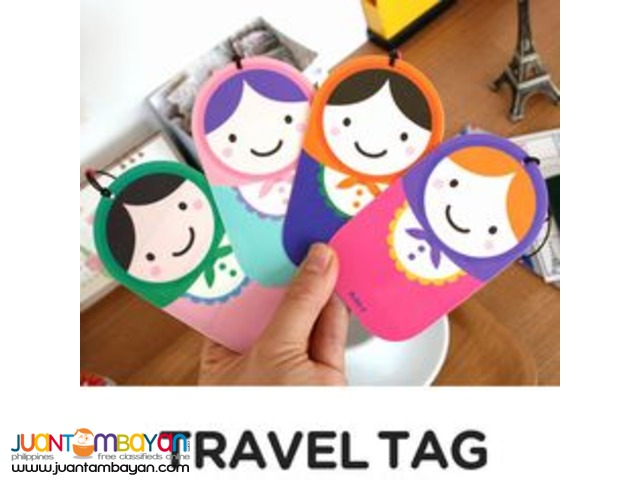 Russian Doll/Matryoshka Luggage Label Travel Tag