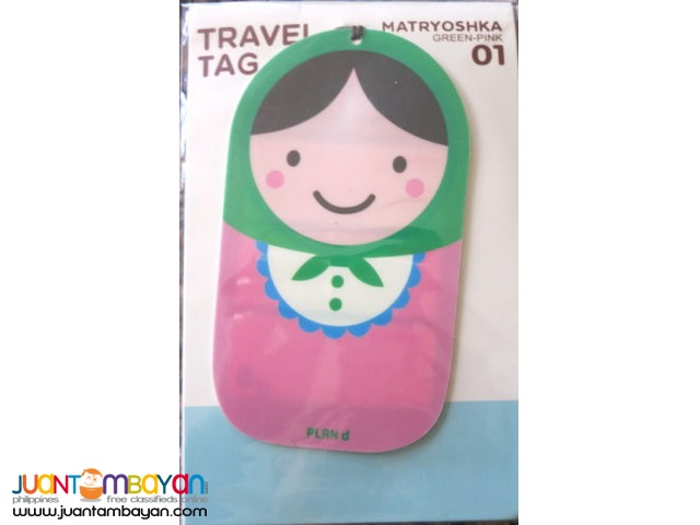 Russian Doll/Matryoshka Luggage Label Travel Tag