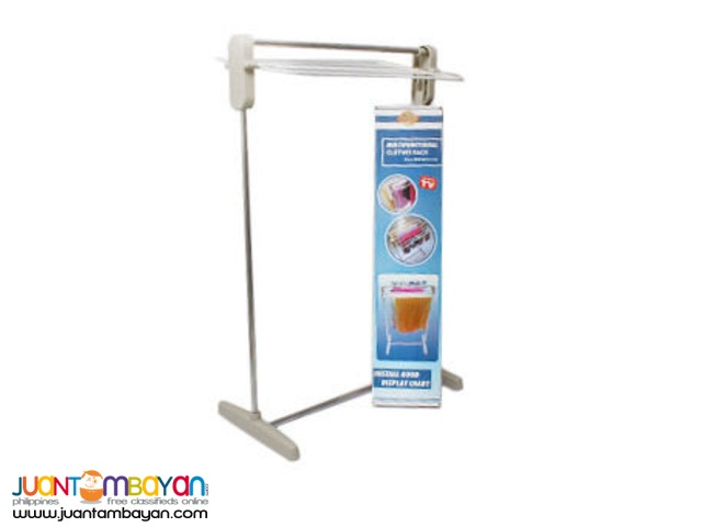 Multifunctional Clothes Rack Hanger Dryer Stand Laundry