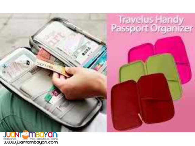 Travelus Handy Passport Holder Travel Pouch Bag Multifunctional